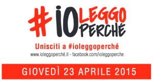 Spritz Letterario aderisce a #ioleggoperché