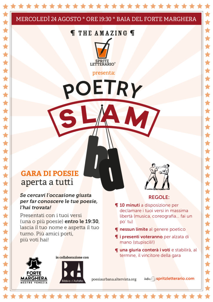 POETRY SLAM IN BAIA DEL FORTE
